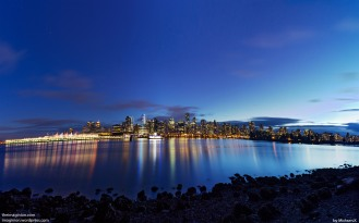 Vancouver at Dusk