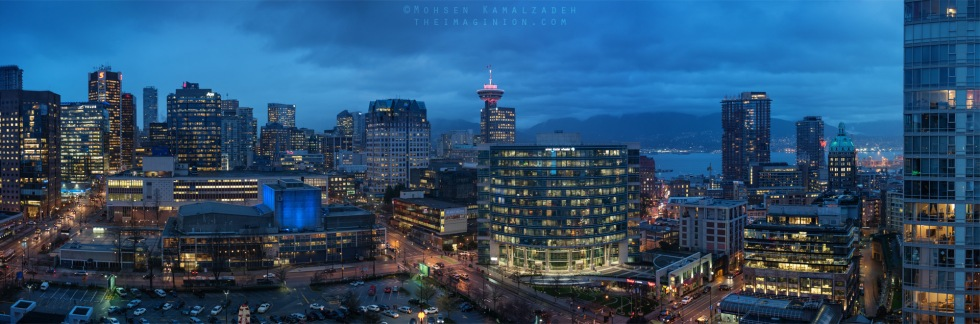A panorama of the Beaty and Dunsmuir junction in Vancouver.  Prints of this can be purchased here. For licensing you can visit this page.